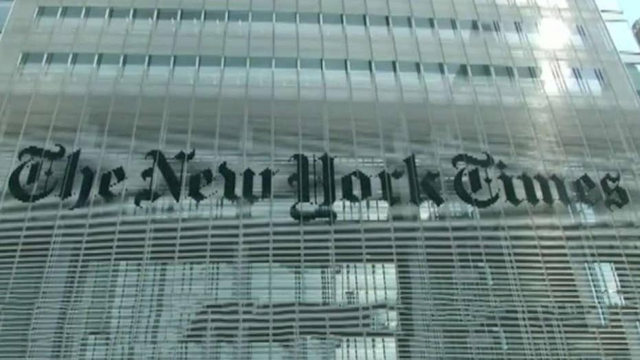 New York Times blames 'editing process' for omission in Kavanaugh report