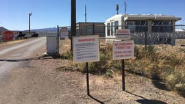 'Storm Area 51' have you interested in seeing the mystery site's entrance? Take a peek