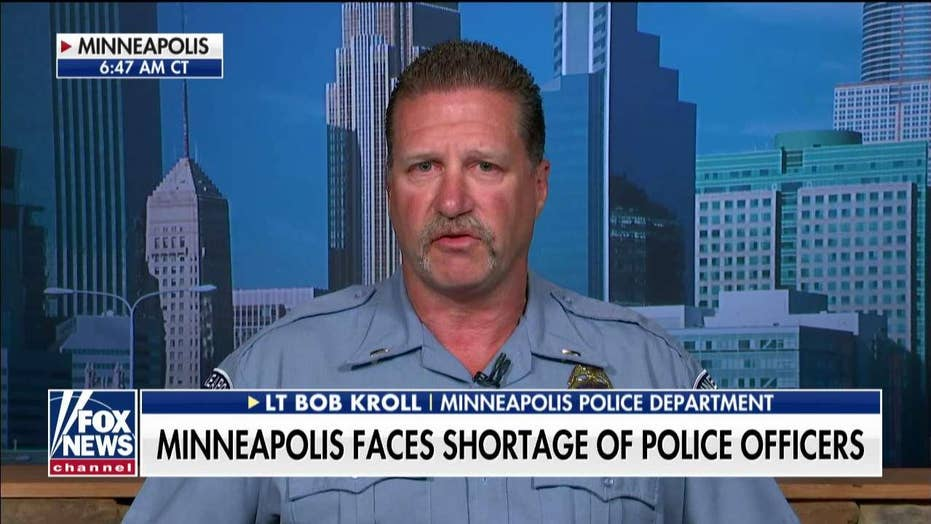 Minneapolis officer blames city's 'ultra-left agenda' for failure to add cops to combat recent crime spree