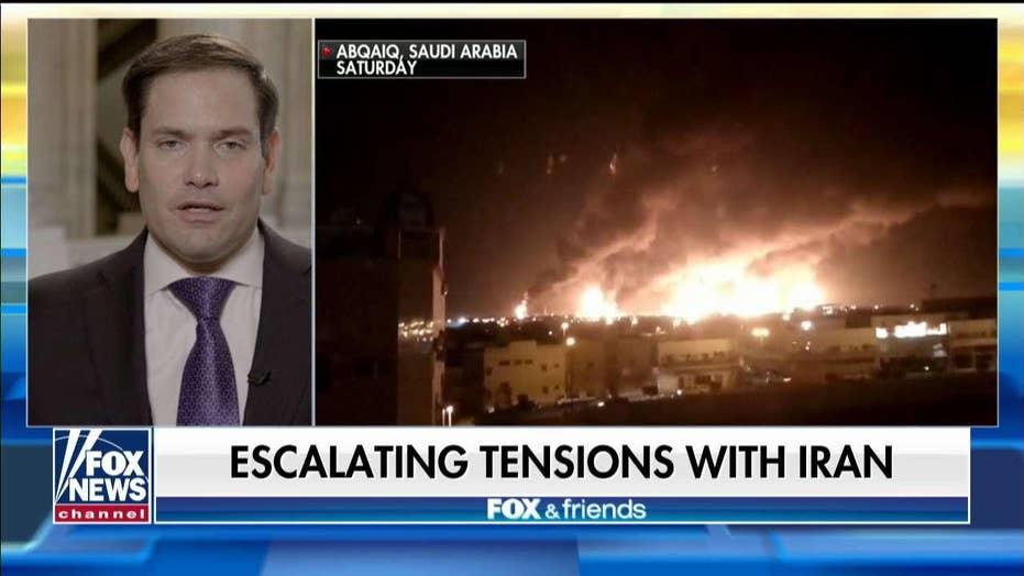 Sen. Marco Rubio talks escalating tensions with Iran