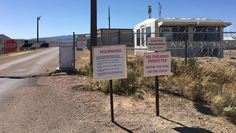A Peek Outside Area 51