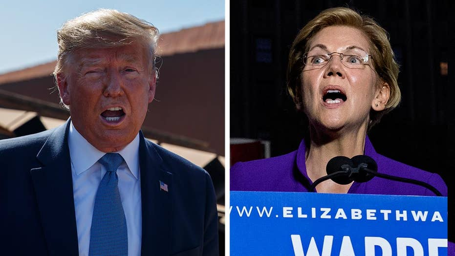 Matt Drudge predicts Elizabeth Warren will take on President Trump in 2020