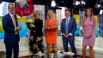 Ainsley Earhardt showered with birthday love from family, friends and colleagues
