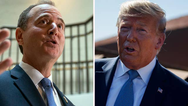 Trump hits back at 'radical left Democrats' over whistleblower claim