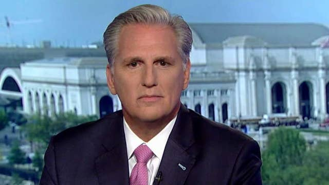 Rep. Kevin McCarthy on whistleblower controversy, House Democrats' attack Trump strategy