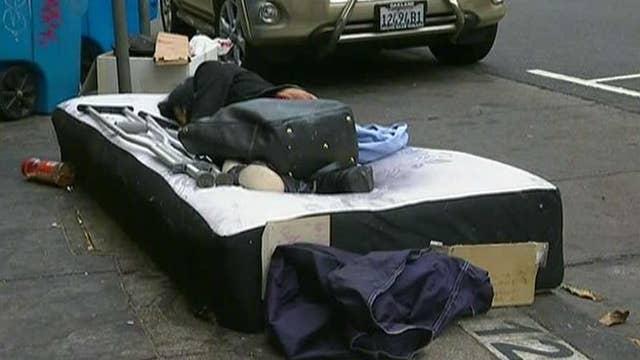 President Trump puts California politicians on notice over homelessness crisis