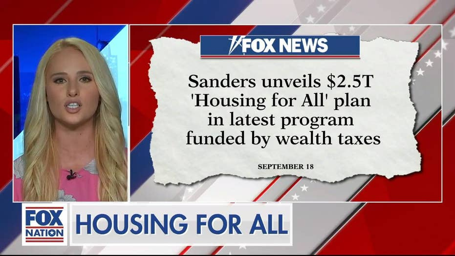 Lahren blasts new Sanders' plan: 'One dangerous step closer to socialism...maybe that's what people like Bernie want'