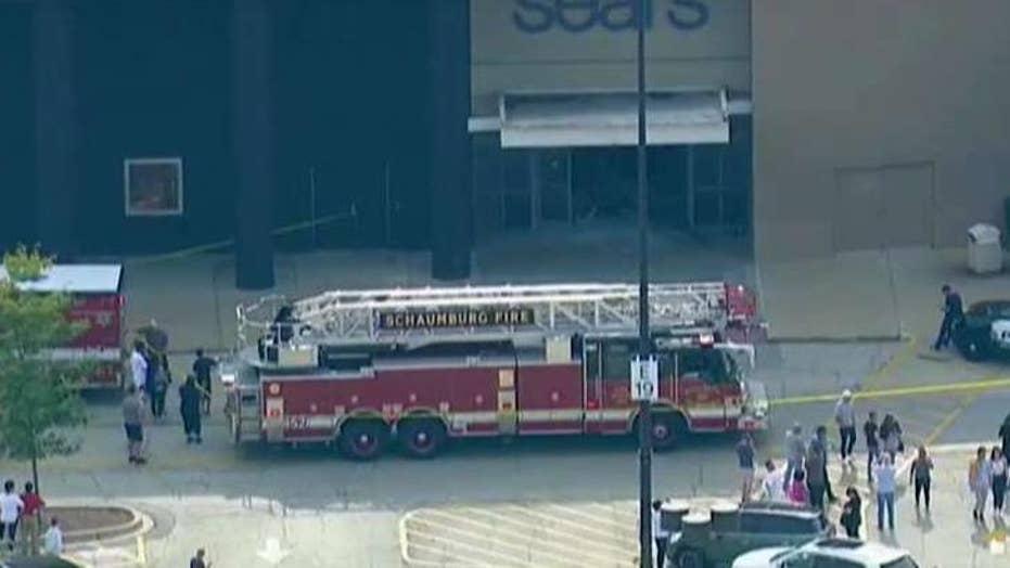 SUV drives through mall in Illinois, suspect in custody