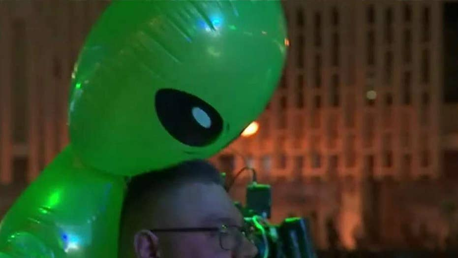 'Storm Area 51' festival kicks off in Nevada