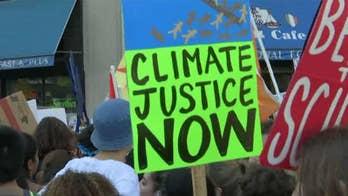 Millions protest climate change