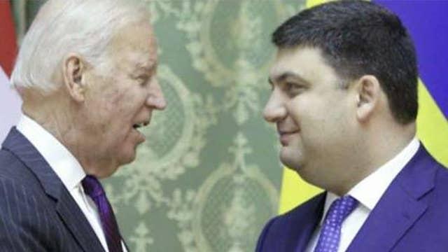 President Trump questions former Vice President Joe Biden's ties to Ukraine