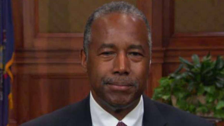 Secretary Carson attacked as 'transphobic' for saying there are two genders