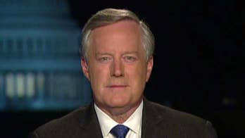 Rep. Mark Meadows reacts to whistleblower complaint against Trump