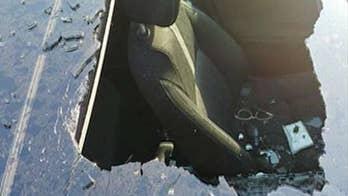 Missouri woman's dry shampoo explodes, shatters car sunroof