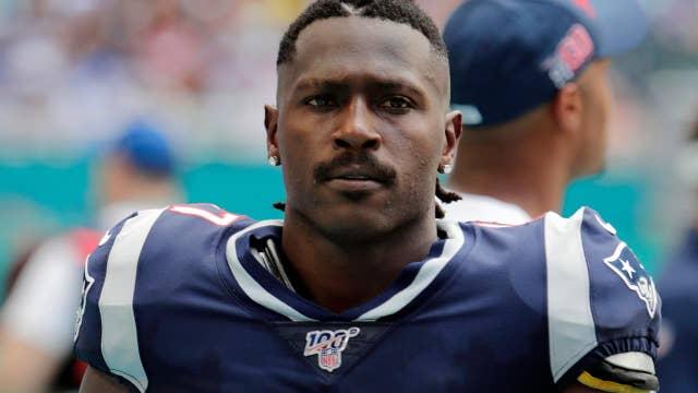 Sports magazine sinks Antonio Brown