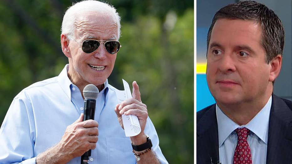 Rep. Devin Nunes: Joe Biden admitted he did the very thing President Trump is accused of doing