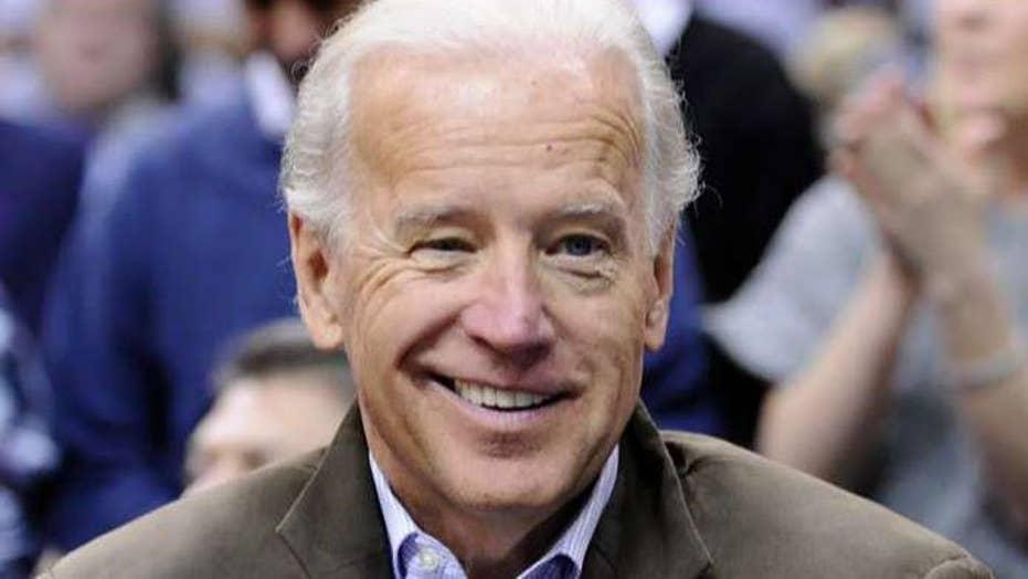 Joe Biden accuses President Trump of abusing power to smear him