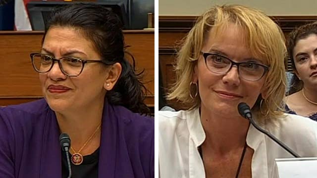 Rep. Rashida Tlaib spares with witness during Oversight Committee hearing on vaping