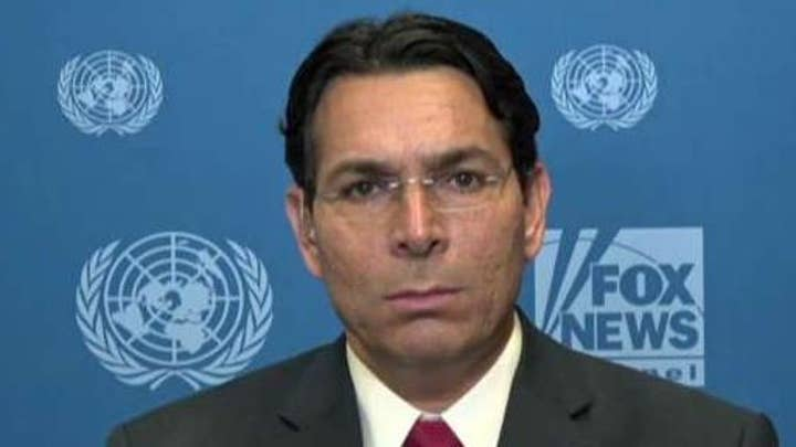 Israeli Amb. Danny Danon says Israel is grateful for President Trump's support, calls for increased pressure on Iran