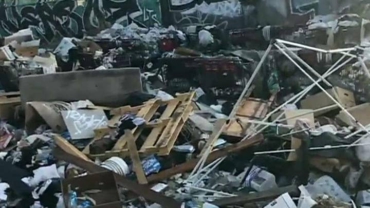 Republican activist cleaning up liberal cities in ruin