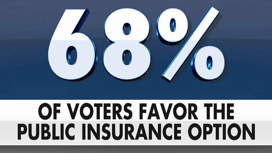 Poll: Voters back health care plan that expands Medicare public option, keeps private option