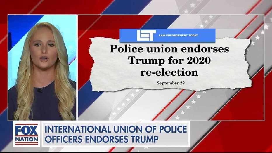 Tomi Lahren on police union Trump endorsement