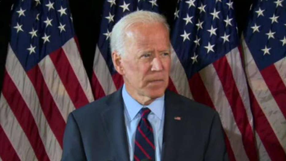 Joe Biden says it's time for Congress to fully investigate the conduct of the president