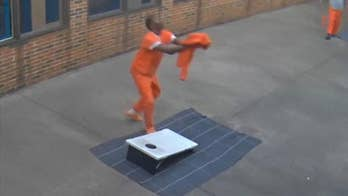 Ohio jail video shows moment drone drops off phone, drugs to inmate