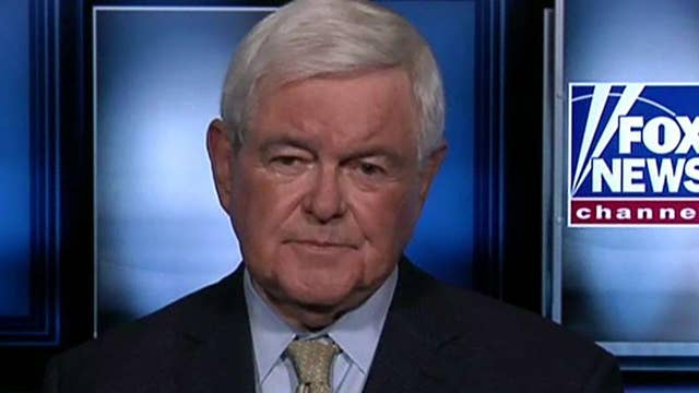 Newt Gingrich says Nancy Pelosi should have launched an investigation into Hunter and Joe Biden