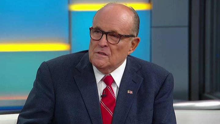 Rudy Giuliani: The president of Ukraine says he wasn't pressured