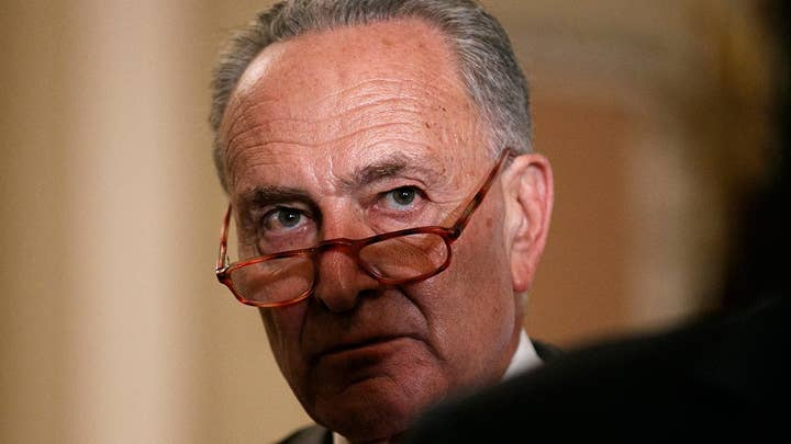 Sen. Chuck Schumer says the formal impeachment inquiry was not taken up for partisan reasons