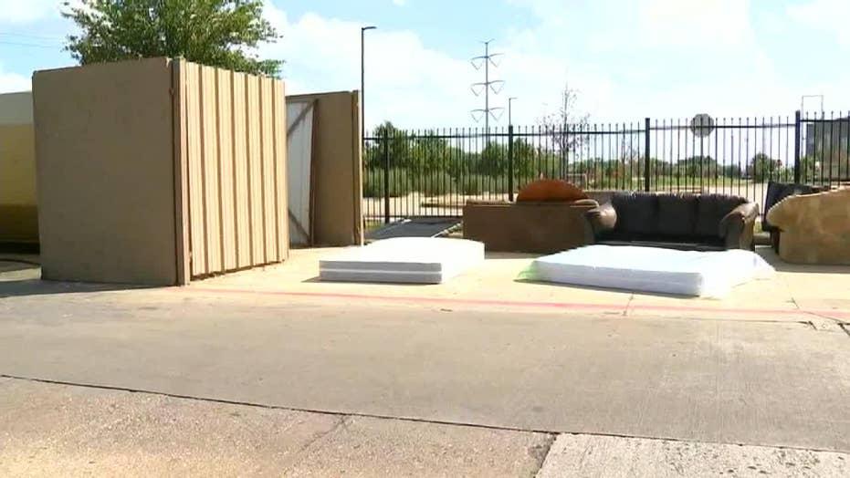 Texas newborn found in dumpster