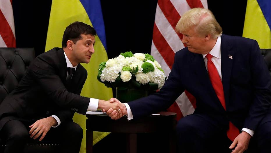 Ukrainian President Zelensky on phone call with President Trump: Nobody pushed me