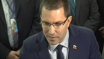 Venezuelan foreign minister calls Trump meeting with opposition leaders 'shameful'