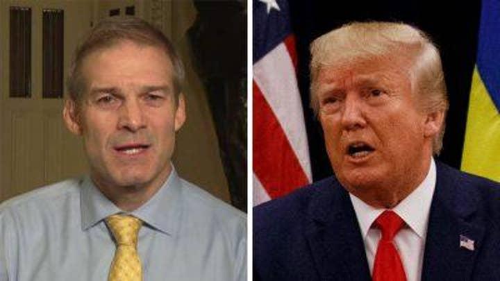 Jim Jordan on Dems' impeachment push
