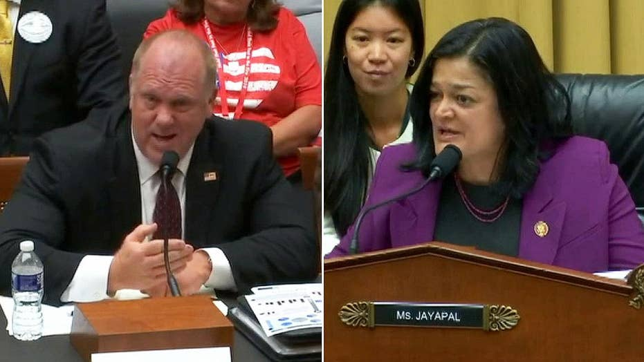 Former ICE director clashes with Dem over detention practices