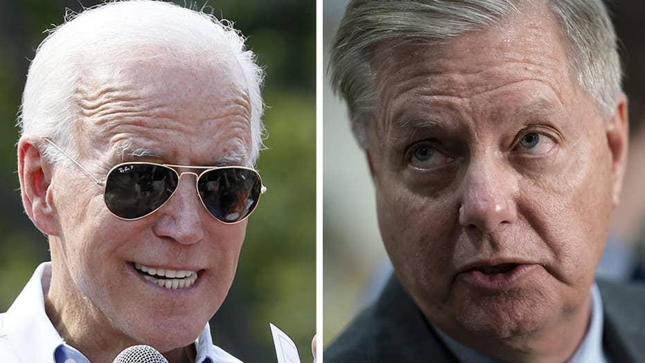 Republican senators push to ramp up scrutiny of Joe and Hunter Biden over Ukraine controversy
