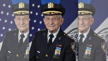 NYPD's longest serving officer, Rabbi Alvin Kass, protects those who serve to protect all