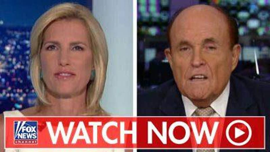 Rudy Giuliani rips Romney in reaction to Trump Ukraine news