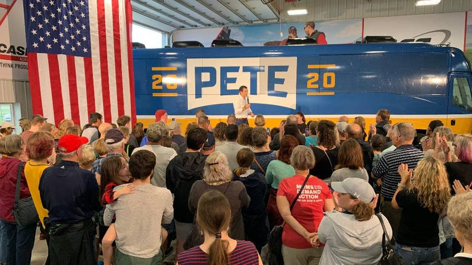 On the Buttigieg bus: 2020 Dem employs Republican strategy in Iowa tour
