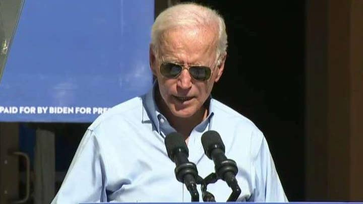 Joe Biden is back on the campaign trail after the release of the Ukraine call transcript