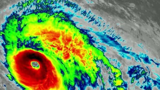 Hurricane Lorenzo now a Category 5