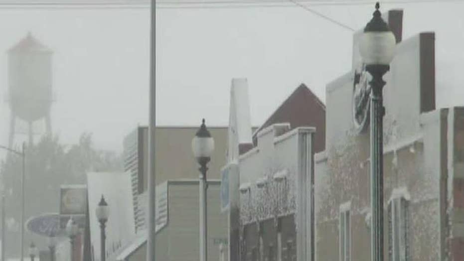 Montana slammed with a foot of snow