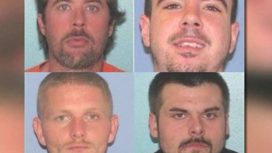 Manhunt underway for four escaped inmates in Ohio