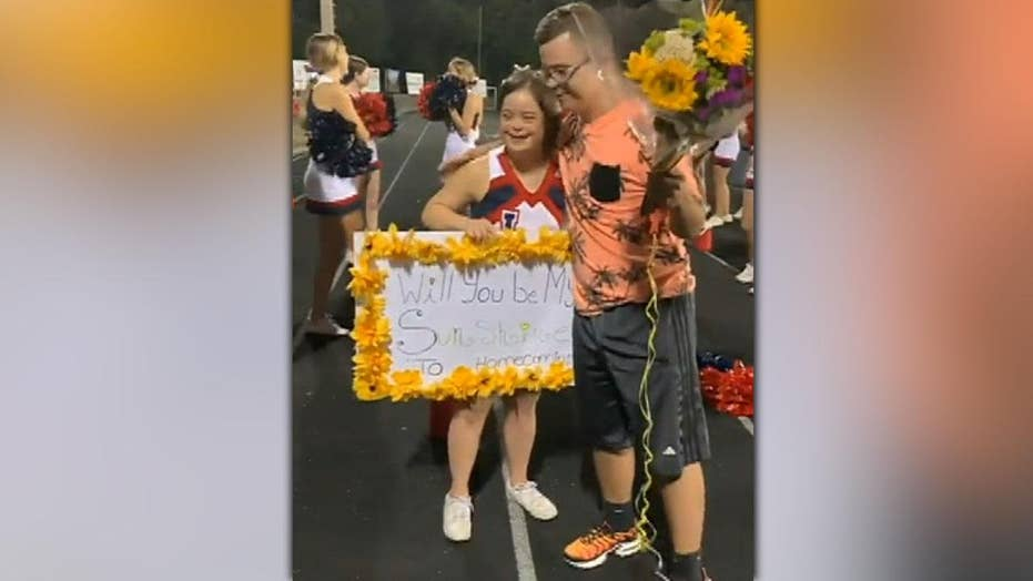 Heartwarming video shows teen with Down syndrome asking girlfriend to homecoming