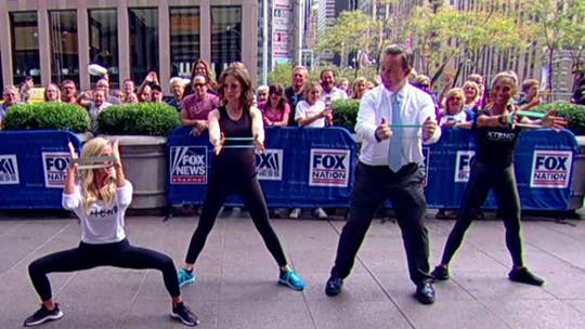 Xtend Barre sweats it out on FOX Square