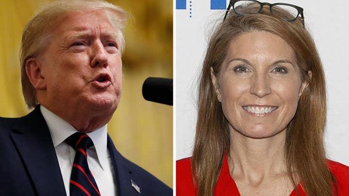 MSNBC breaks in, calls Trump liar