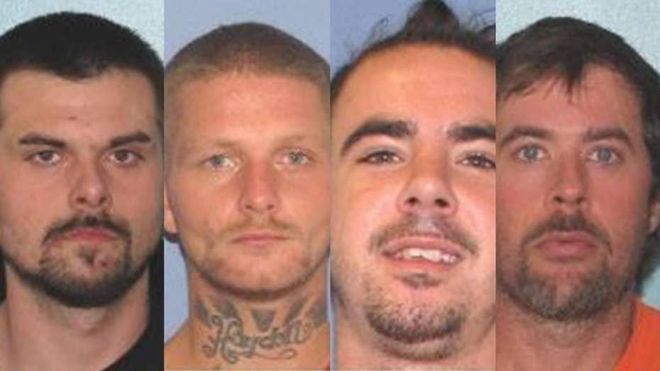 Report: Three of four men who escaped Ohio jail captured in North Carolina