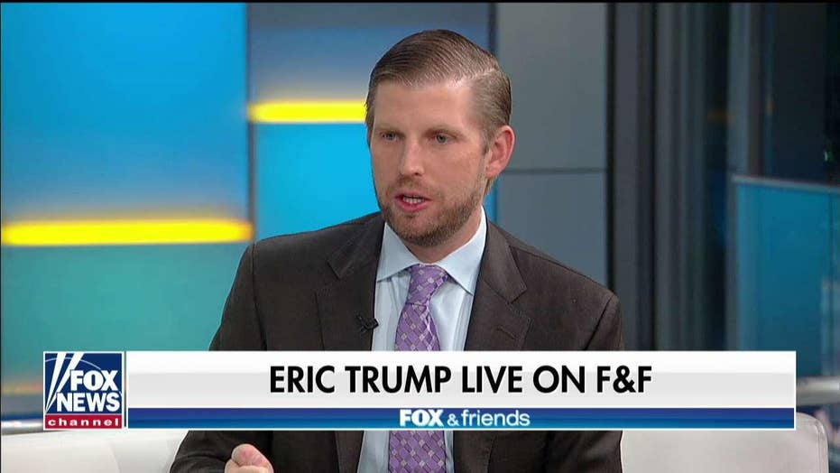 Eric Trump on impeachment fight: 'We're going to win again. This is going to backfire on them'