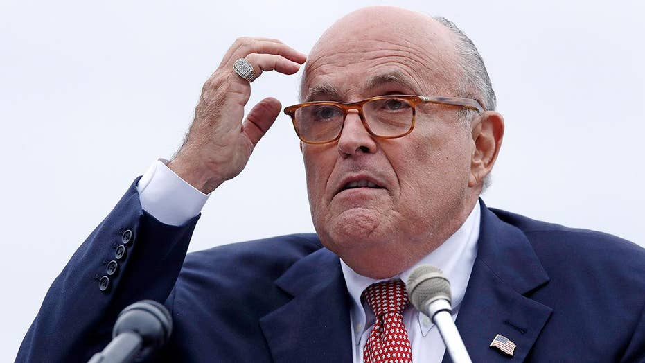 Rudy Giuliani subpoenaed by House panels for Ukraine documents
